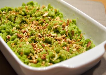 Ribelmais Rezept - Grüne Ribelknöpfli