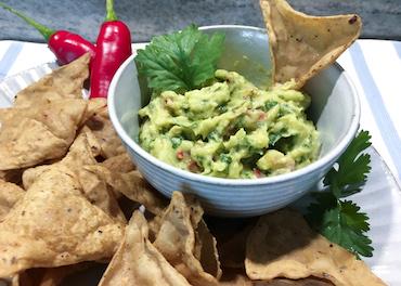 Ribelmais Rezept - Ribeltortilla-Chips mit Guacamole